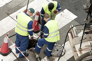 manhole workers