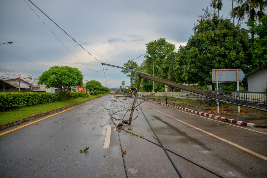 storm hardening for utilities