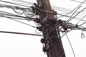 utility pole violation