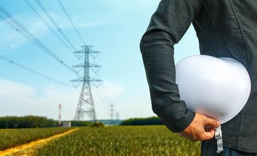 utility pole worker
