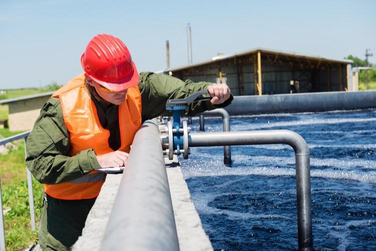 water treatment employee