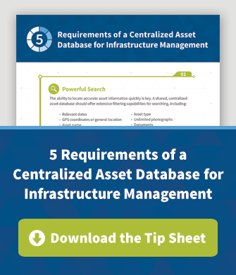5 Requirements of a Centralized Asset Database for Infrastructure Management